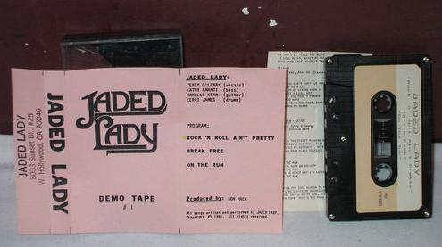 Jaded Lady - Demo 1985