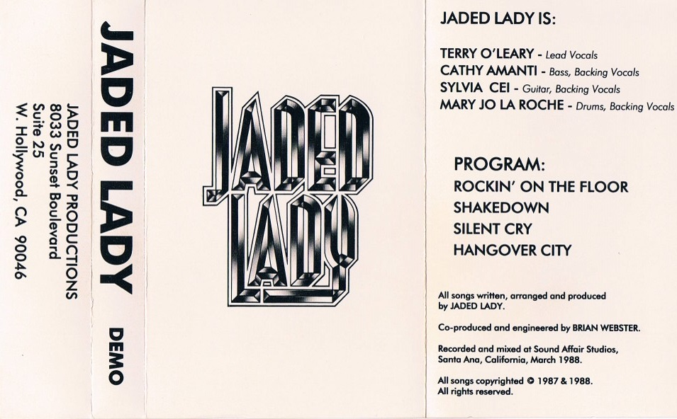 Jaded Lady - Demo 1988