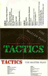 Tactics - The Master Plan