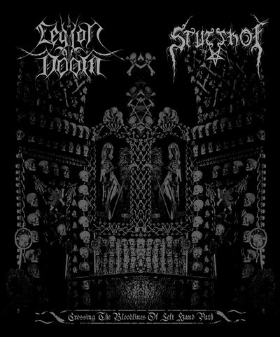 Legion of Doom / Stutthof - Crossing the Bloodlines of Left Hand Path