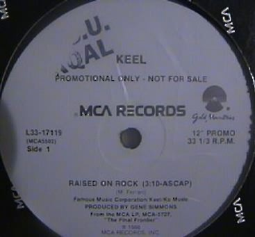 Keel - Raised on Rock