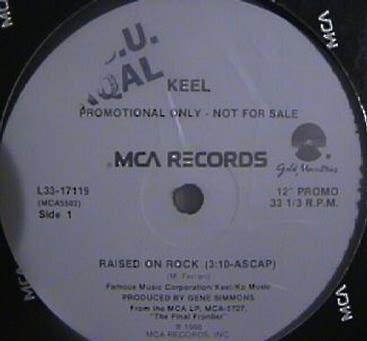 Keel - Raised on Rock