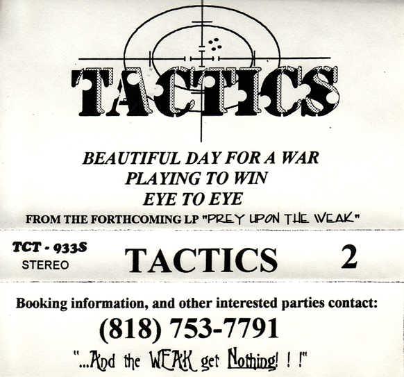 Tactics - Tactics 2