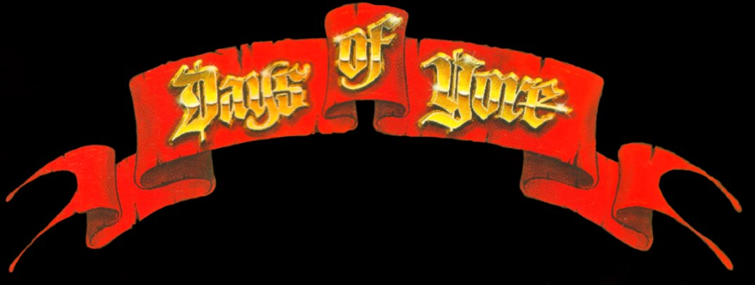 Days of Yore - Logo