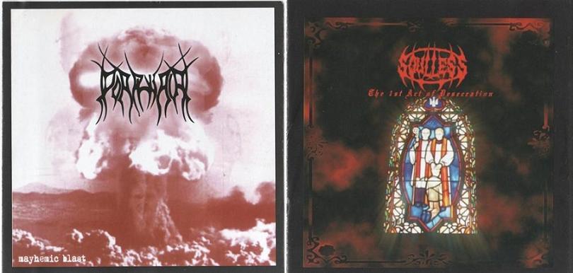 Soulless Profanation / Porphyria - Mayhemic Blast / The 1st Act of Desecration