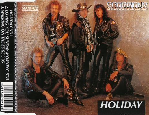 Scorpions - Holiday