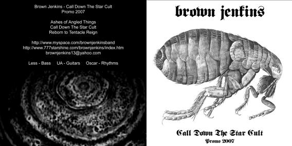 Brown Jenkins - Call Down the Star Cult / Promo 2007