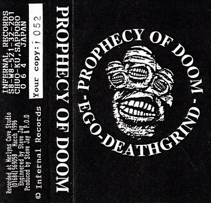 Prophecy of Doom - Ego Death Grind