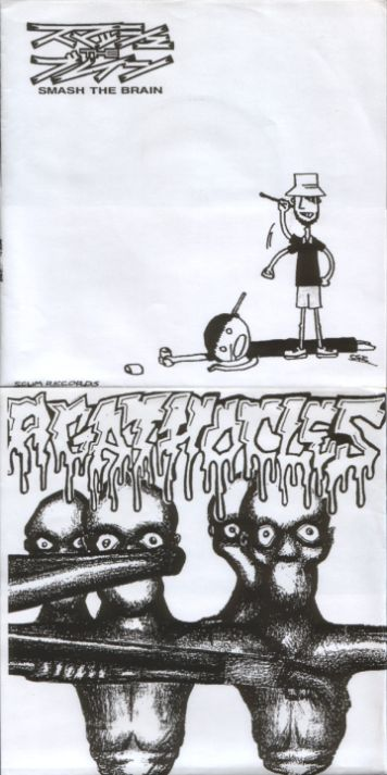 Agathocles / Smash the Brain - Smash the Brain / Agathocles