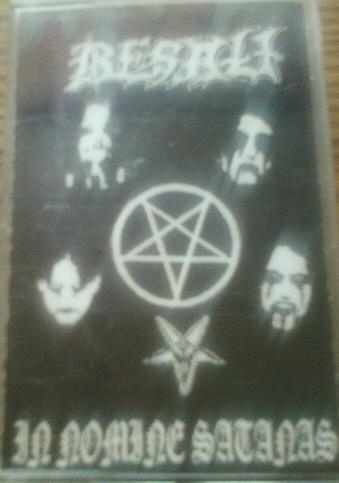 In Nomine Satanas cover (Click to see larger picture)