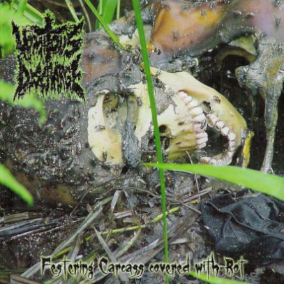 Vomitous Discharge - Festering Carcass Covered with Rot