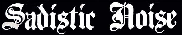 Sadistic Noise - Logo