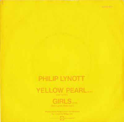 Philip Lynott - Yellow Pearl / Girls