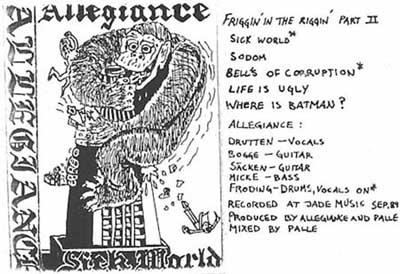 Allegiance - Sick World
