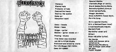 Allegiance - Eternal Hate