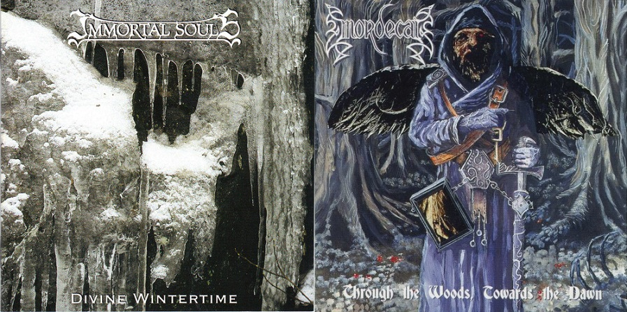 Immortal Souls / Mordecai - Divine Wintertime / Through the Woods, Towards the Dawn