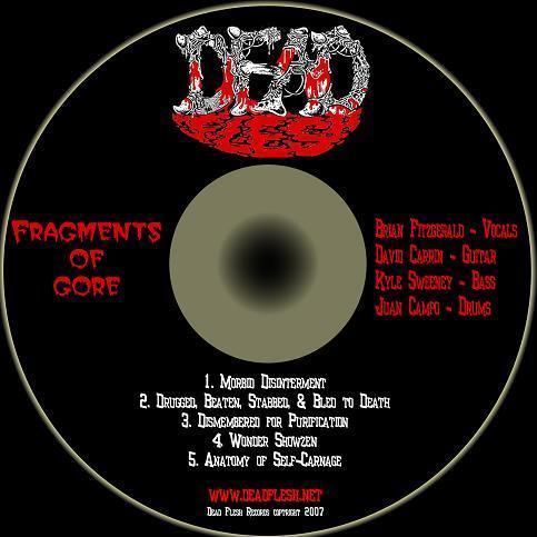 Dead Flesh - Fragments of Gore