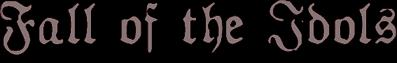 Fall of the Idols - Logo
