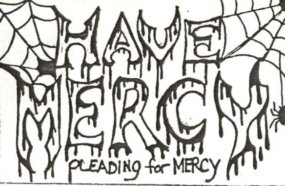Have Mercy - Pleading for Mercy