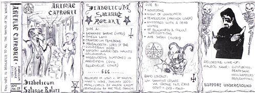 Animae Capronii - Diabolicum Satanae Rotari