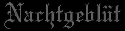 Nachtgeblüt - Logo