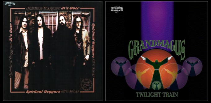 Spiritual Beggars / Grand Magus - It's Over / Twilight Train