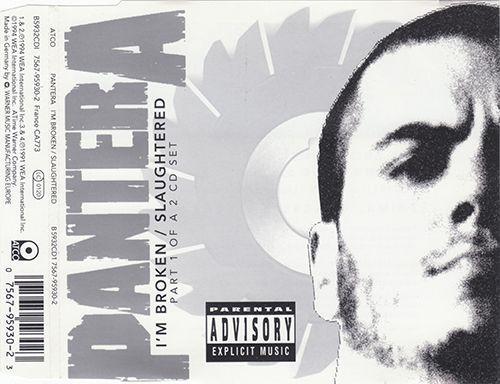 Pantera - I'm Broken / Slaughtered