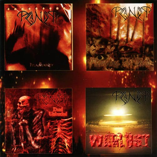 Paganizer - Deadbanger / Promoting Total Death / Dead Unburied / Warlust