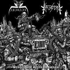 Abigail / Hate Kommand - Street War Metal Kommand
