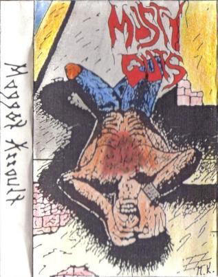Musty Guts - Maggot Assault