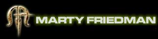 Marty Friedman - Logo