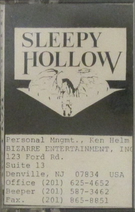 Sleepy Hollow - '89 Demo (A Legend Retold)