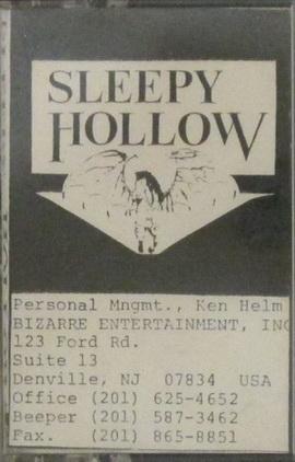 Sleepy Hollow - '89 Demo (A Legend Retold)
