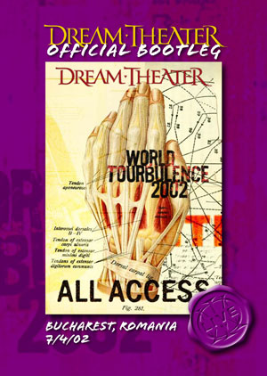 Dream Theater - Bucharest, Romania 7/4/02