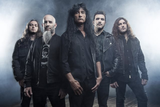 Anthrax members (Click to see larger picture)