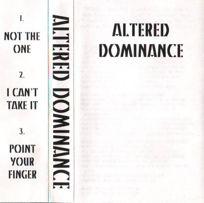 Altered Dominance - Demo 1995