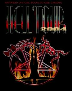 Hell Tour 2004 cover (Click to see larger picture)