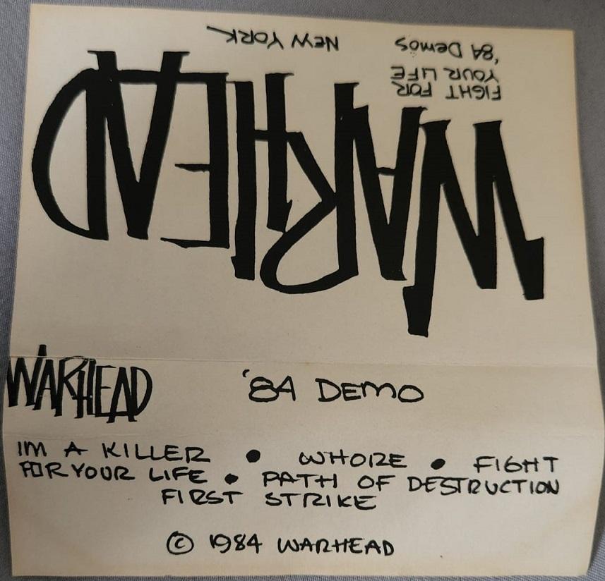 Warhead - Demo 1984
