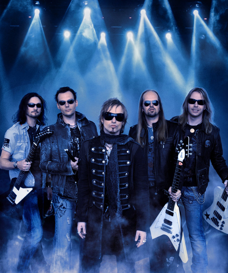 Edguy members (Click to see larger picture)