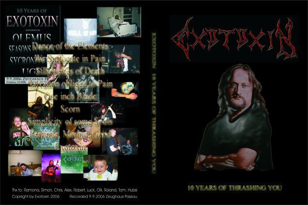 Exotoxin - 10 Years of Thrashing You