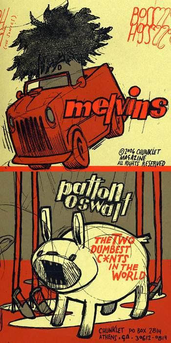 Melvins - Melvins / Patton Oswalt