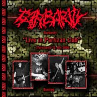 Barbarity - Live in Partizan Club