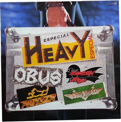 Barón Rojo / Panzer / Obús / Sobredosis - Especial Heavy (II)