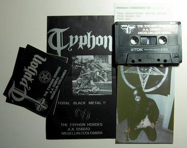 Typhon - Demo rehearsal