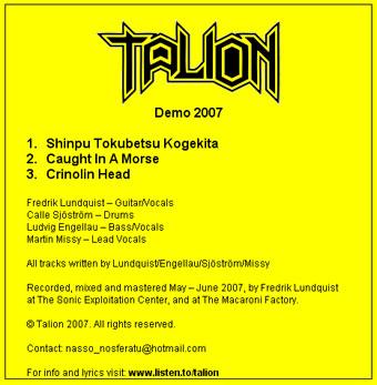 Talion - Demo 2007