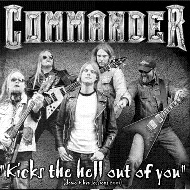 Commander - Kicks the Hell Out of You