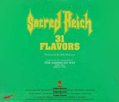 Sacred Reich - 31 Flavors