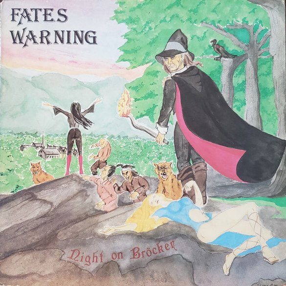 Fates Warning — Night on Brocken (1984)