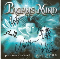 Pagan's Mind - Promotional : Disc 2006