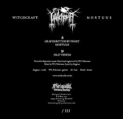 Witchcraft - Mortuus